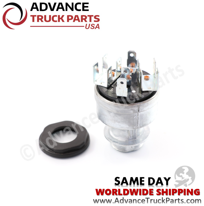 Advance Truck Parts A06-22717-001 Ignition Switch for Freightliner