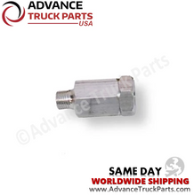 "Load image into Gallery viewer, Advance Truck Parts W072132 1/4"" NPT In-Line Filter for Air Solenoid Valve"