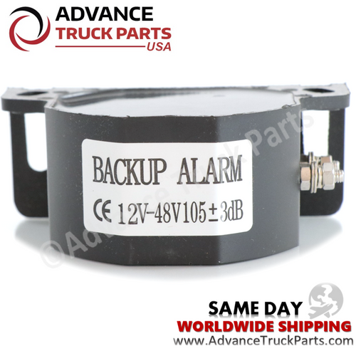 Advance Truck Parts  Back up alarm / Back up Beeper / truck heavy equipment forklift