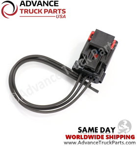 Advance Truck Parts W094100 3 Wire Pigtail Harness Connector