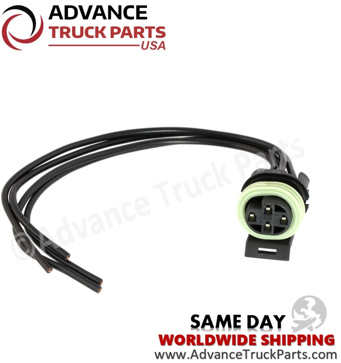 Advance Truck Parts W094102 Pigtail Connector for Coolant Level Sensor