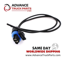 Load image into Gallery viewer,  Advance Truck Parts W094104 Pigtail Connector 2 Pin