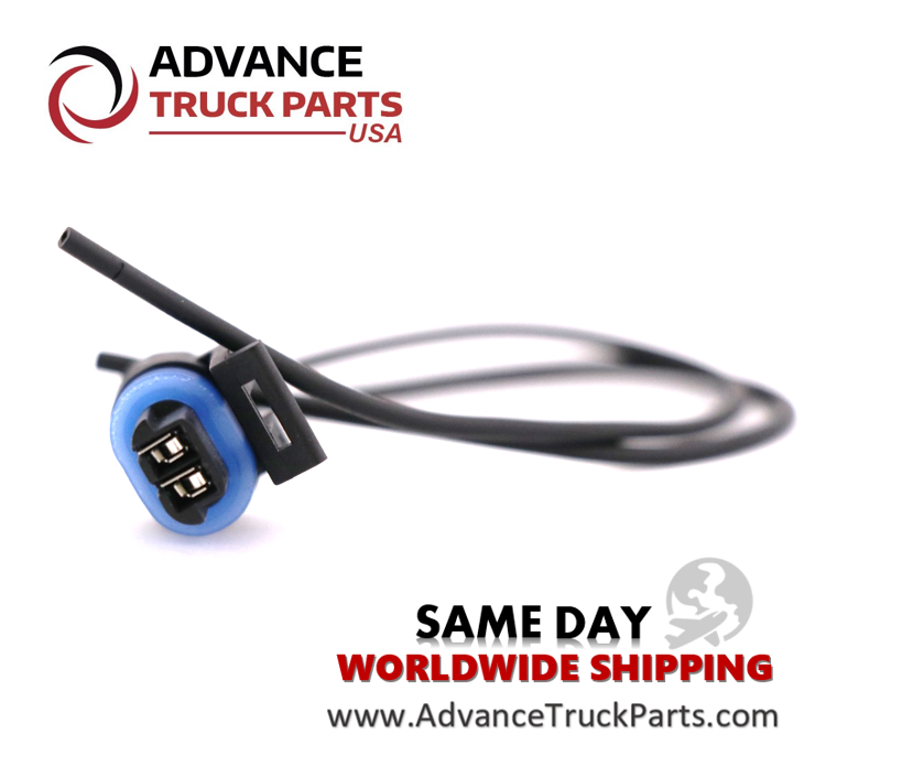 Advance Truck Parts W094104 Pigtail Connector 2 Pin