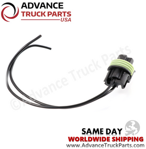 Advance Truck Parts W094105 Pigtail Connector 2 Pin for Pressure Switch
