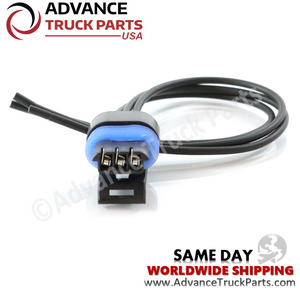 Advance Truck Parts W094107 Pigtail Connector 3 Pin