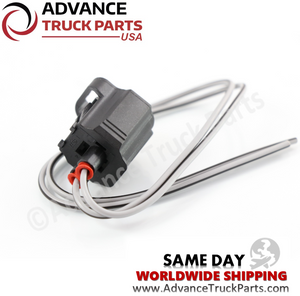 Advance Truck Parts W094110 Pigtail Connector 2 Pin