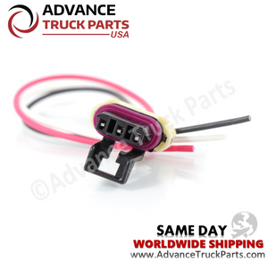 Advance Truck Parts W094112 Pigtail Connector 3 Pin