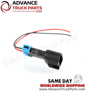 Advance Truck Parts W094113 Pigtail Connector 2 Pin