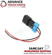 Load image into Gallery viewer, Advance Truck Parts W094113 Pigtail Connector 2 Pin