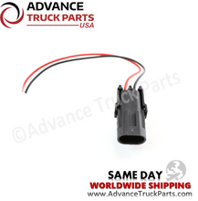 Load image into Gallery viewer, Advance Truck Parts W094115 Pigtail Connector 2 Pin