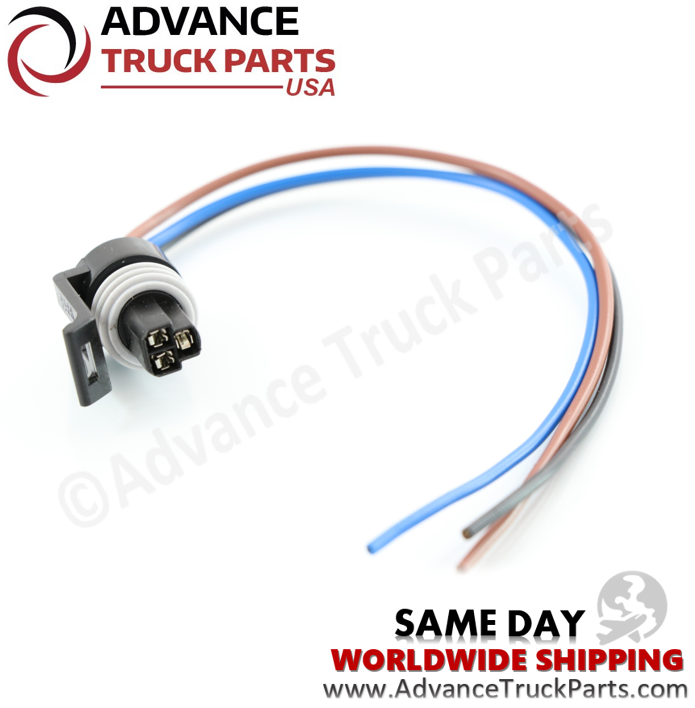 Advance Truck Parts PT2319 Pigtail Connector 3 Pin