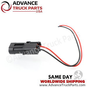 Advance Truck Parts W094115 Pigtail Connector 2 Pin