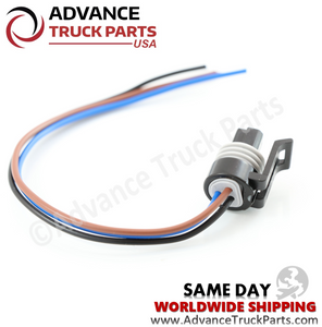 Advance Truck Parts W094115 Pigtail Connector 3 Pin