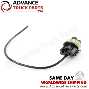 Advance Truck Parts W094127 Pigtail Harness 1 Pin for Oil Pressure Switch