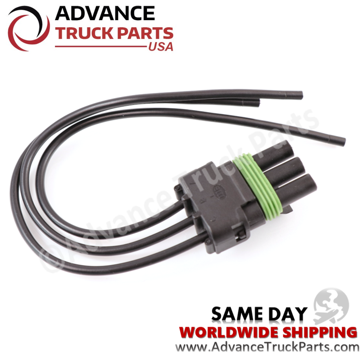 ATP W094128 Pigtail Harness Connector 3 Pin Female