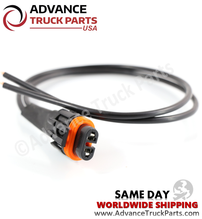 Advance Truck Parts 109869 109871 Pigtail Connector Harness for Air Dryer