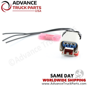 ATP W094221 Cummins ISX Fuel Pressure Pigtail Harness Connector
