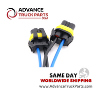 Load image into Gallery viewer, Advance Truck Parts Harness Connector Pigtail for Fog-Head lights 9005 2pcs