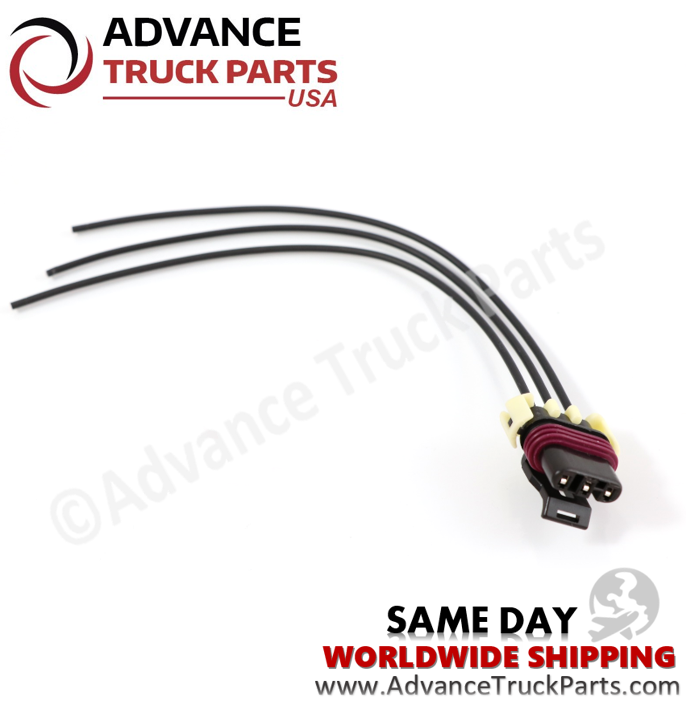 Advance Truck Parts W094214 Pigtail Connector 3 Pin