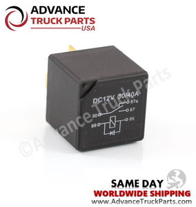 ATP 5 Terminal 40 Amp A/C Relay w/Diode SPDT