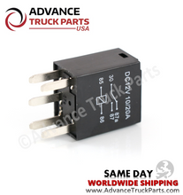 Load image into Gallery viewer, ATP 5 Terminal Micro A/C Relay 20 Amp SPDT W Resistor