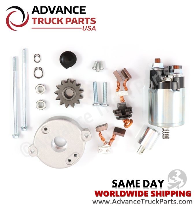 ATP Toyota Starter Rebuilt Kit  with Solenoid / Repair Kit 28100-28070