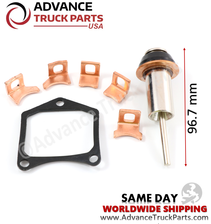 Advance Truck Parts Denso Repair  Kit 0.8-2KW Plunger 96.7mm Gasket Square/ Curve