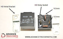 Load image into Gallery viewer, Advance Truck Parts 2 Pcs 12V (Volt) 4 Pin 70A (Amp) Heavy Duty Relay for Truck Bike Boat