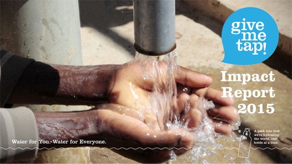 GiveMeTap Impact Report 2015 - see how we change lives in Africa.