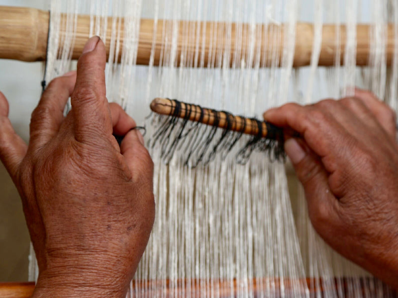 Nuraxi Artisans working with Peace Silk