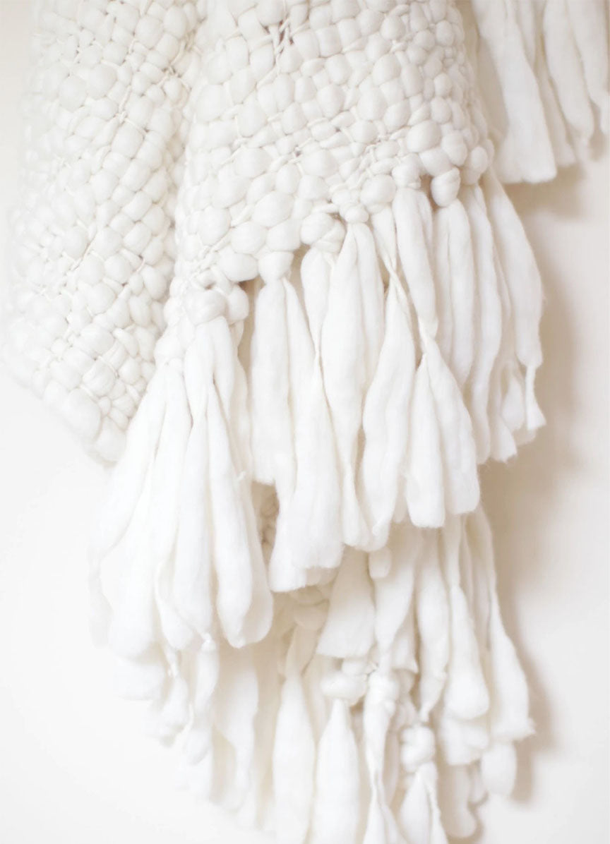 Big Cloud Merino Wool Wrap-Throw