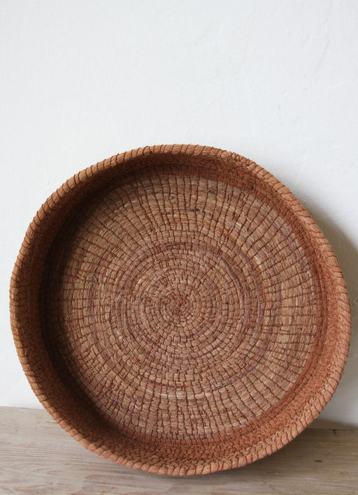 Chaguar Basket - One of a Kind - Dyed with Tree Bark - Reddish Brown - SOLD