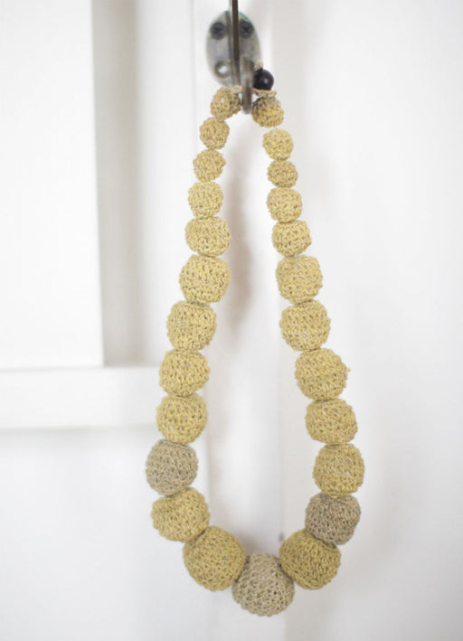 Chaguar Ball Necklace - Palo Santo