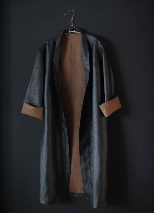 Mud Silk Long Coat