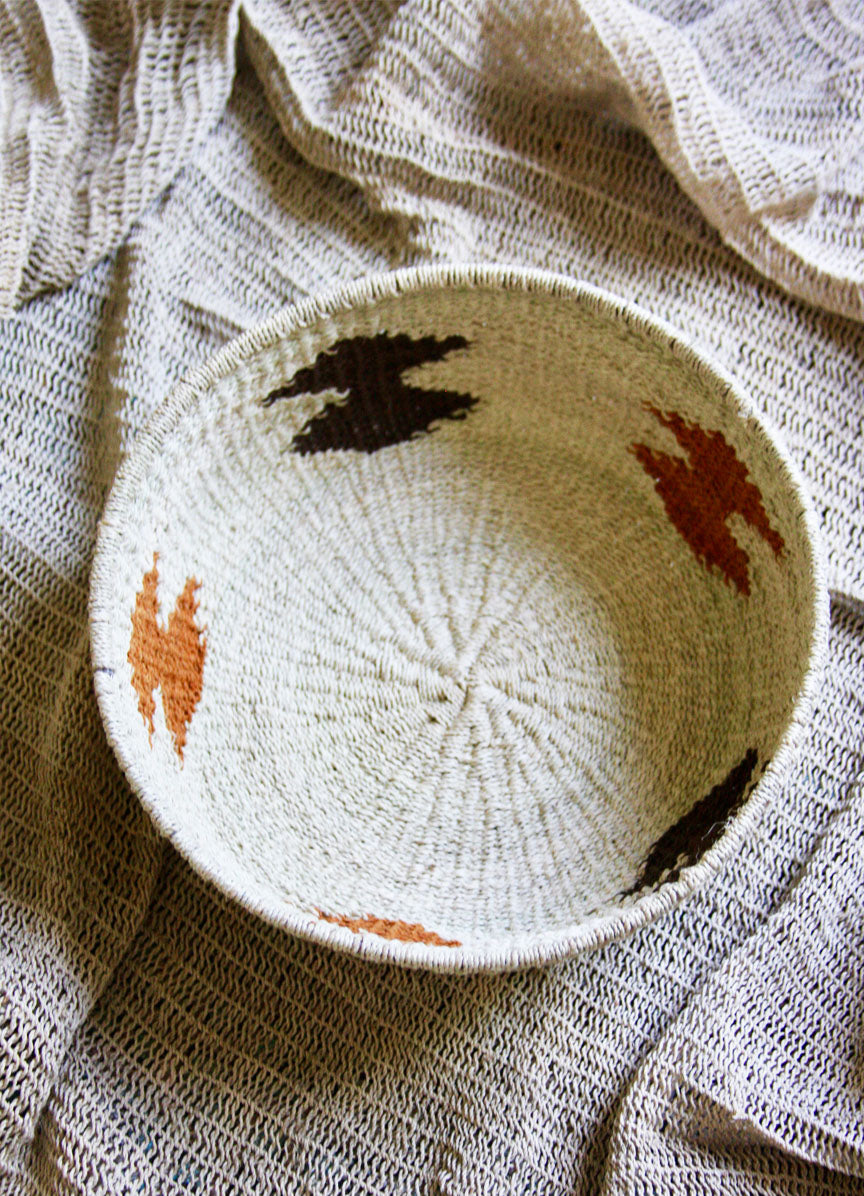 Chaguar Art Basket - One of a Kind -  Natural & Browns
