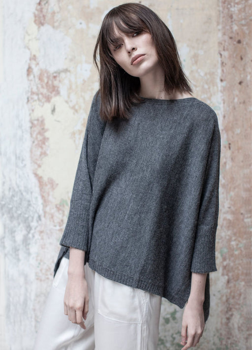 The Essential Sweater - Carbon - LAST ONE!