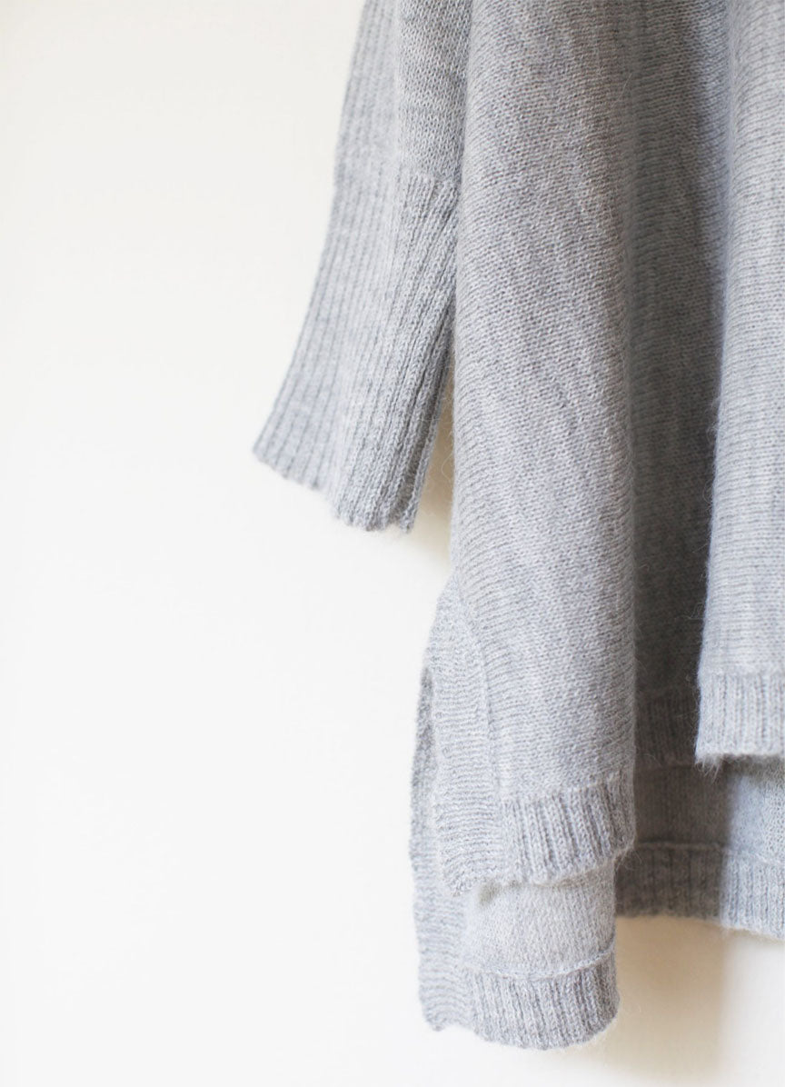 The Essential Sweater - Grey