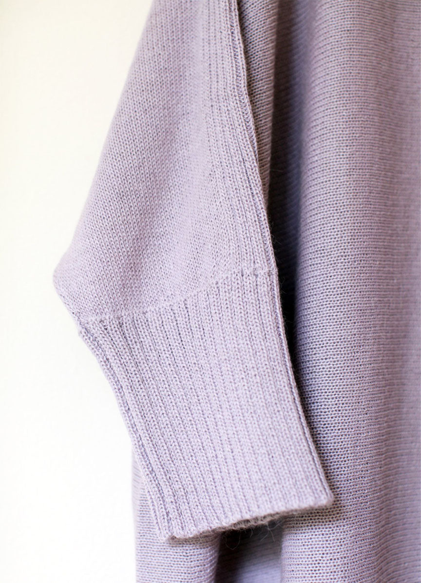 The Essential Sweater - Lilac