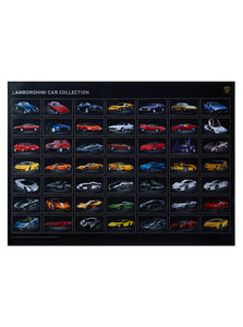 LAMBORGHINI COLLECTION POSTER