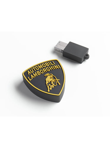 LAMBORGHINI SHIELD USB PVC
