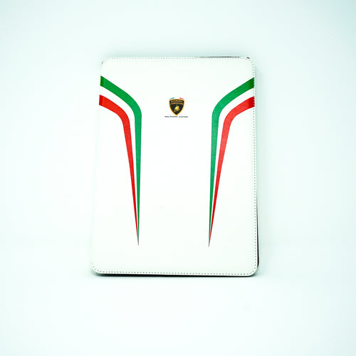 LAMBORGHINI SQUADRA CORSE WHITE IPAD AIR2 CASE