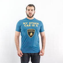 Load image into Gallery viewer, LAMBORGHINI T-SHIRT SHO INKBLUE