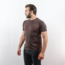 Load image into Gallery viewer, LAMBORGHINI T-SHIRT SHIELD SEALBROWN