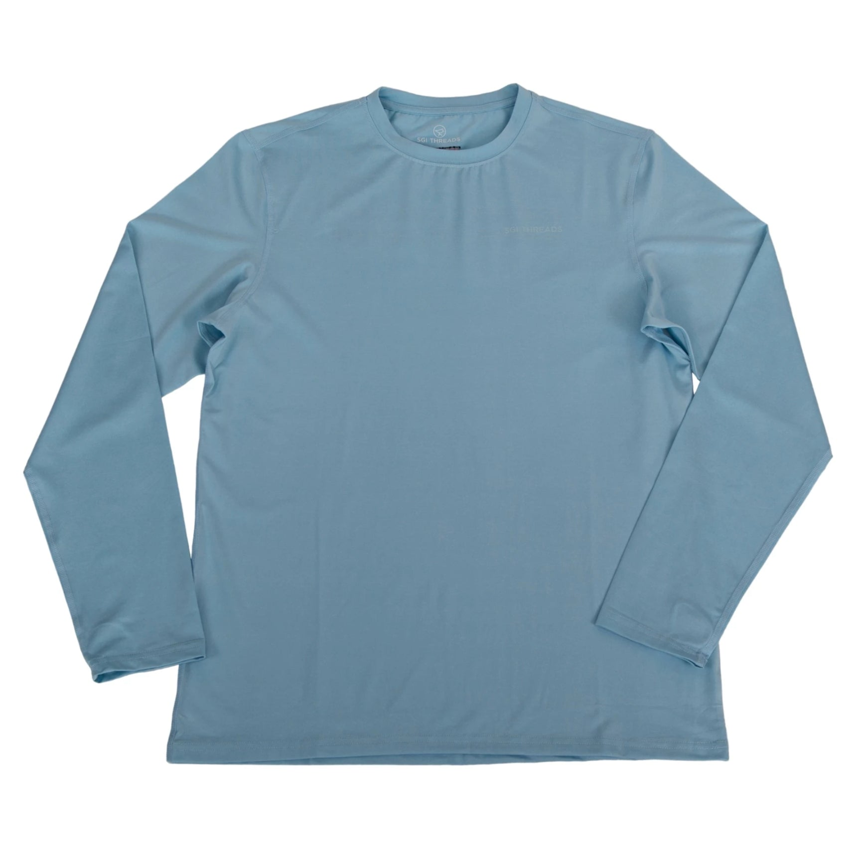 EVERYWHERE SAND TECH LONG-SLEEVE TEE BLUE