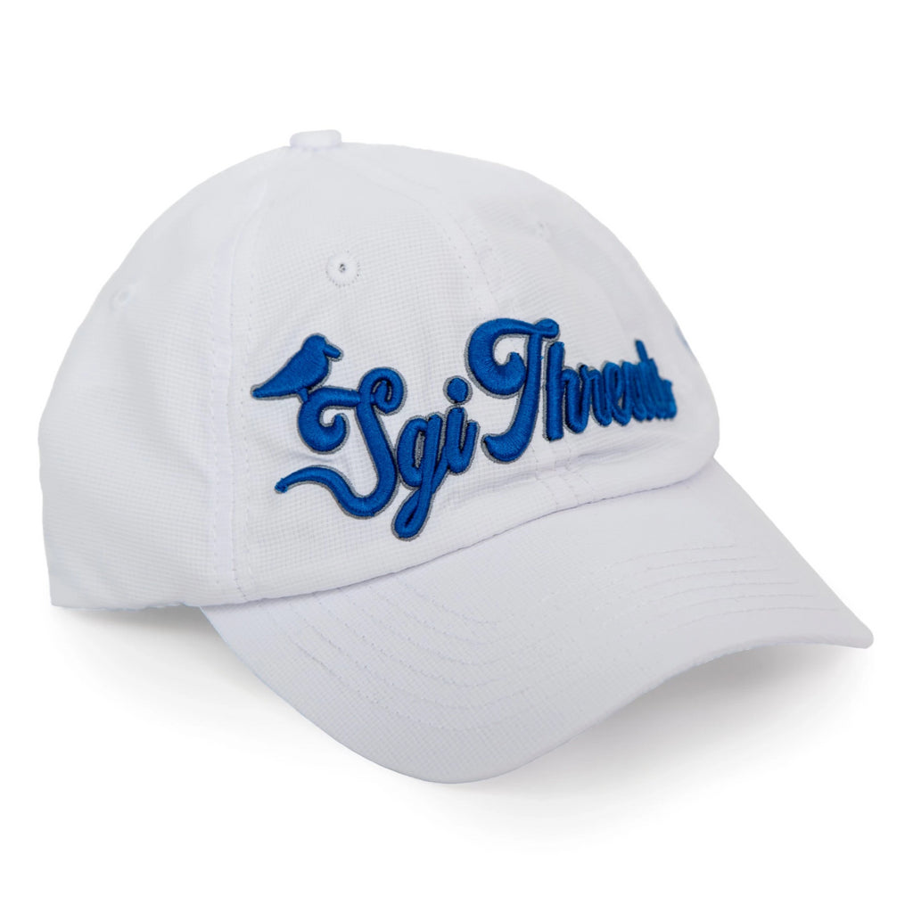 NO-SWEAT TECH HAT WHITE/BLUE