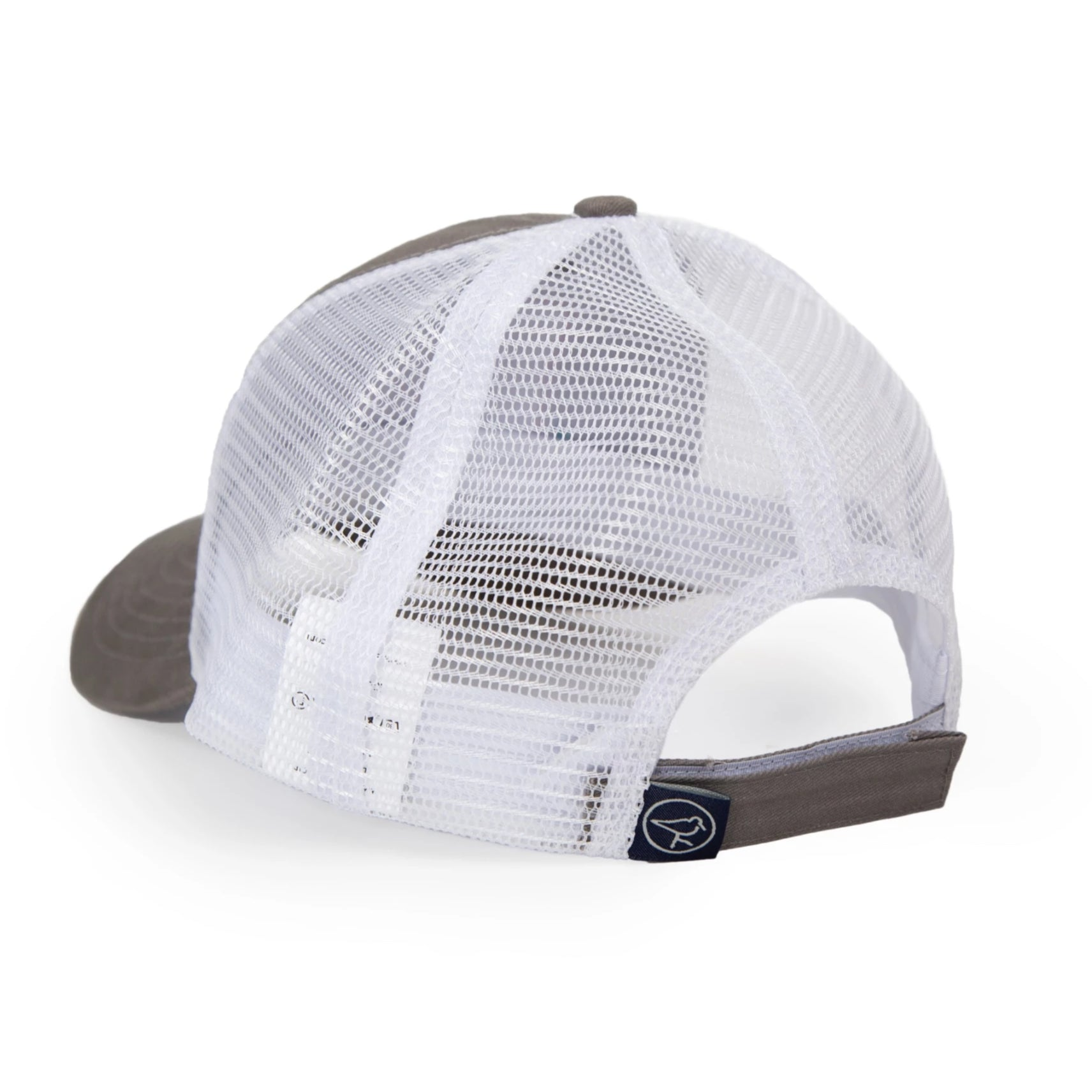 10-4 TRUCKER HAT HARBOR MIST/RED