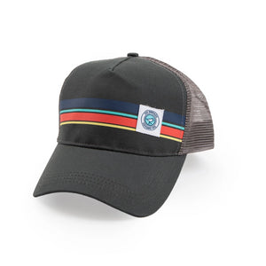 GOOD-TO-GO(LF) HAT GREY STRIPES