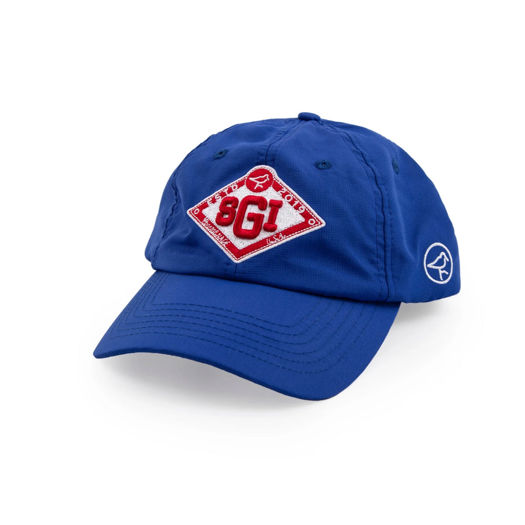 NO-SWEAT DIAMOND HAT BLUE