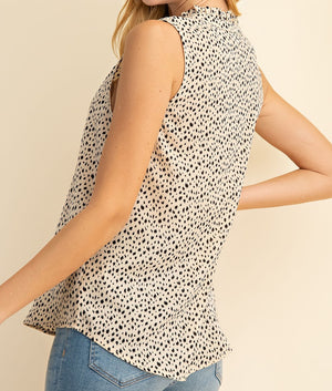 LACY'S CLASSIC ANIMAL PRINT TOP