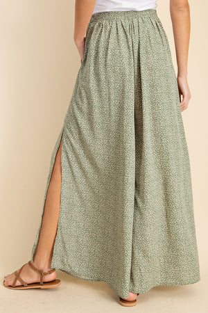 LACY'S HIGH SLIT BREEZY PANTS